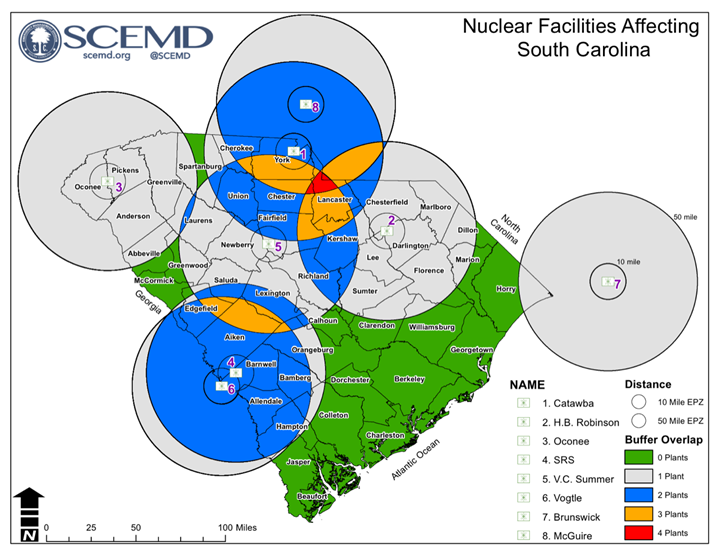Nuclear Power Plants - South Carolina Emergency Management Division